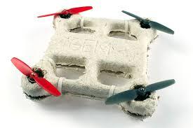 dron biodegradable