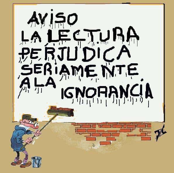 lectura prejudica ignorancia