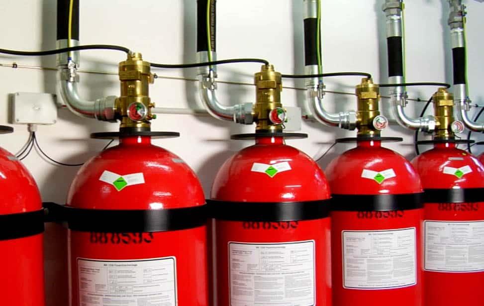 extintores contra incendios