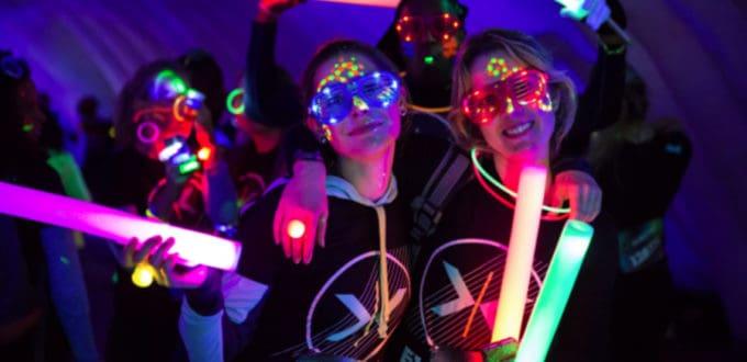pulseras fluorescentes luminosas
