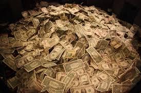 montón de dinero