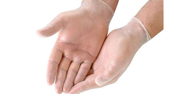 guantes de vinilo santex