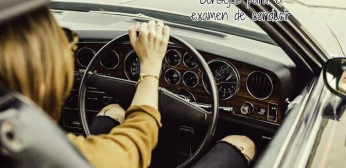 Consejos para el examen de conducir