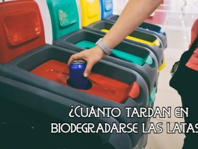 Cuánto tardan en biodegradarse las latas